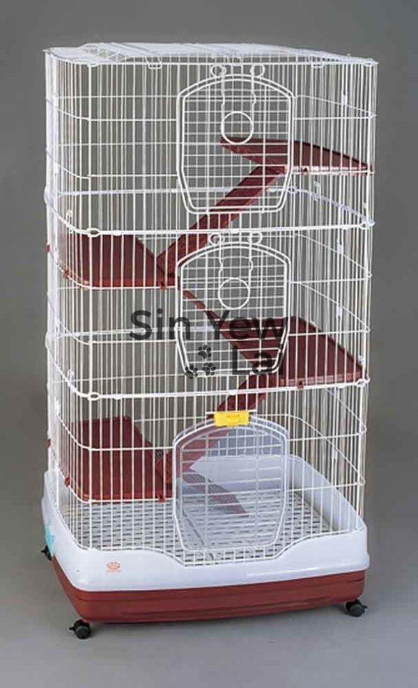 Code: R63 Cat Cage (Mixed Color) 32″ x 22″ x 61″H | Sin Yew