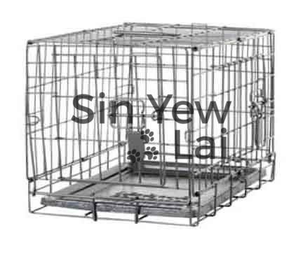 Dogit 2 Door Dog Wire Crate With Divider